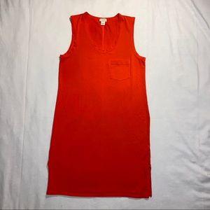 jcrew tee shirt dress